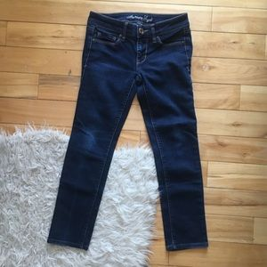 american eagle short skinny jeans